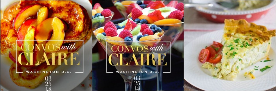 Conversations With Claire Menu